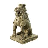 南朝 初唐 青釉点褐彩狮子坐像